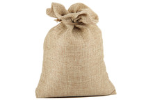 Textile - Burlap Sack Isolated...