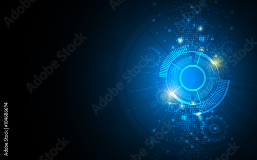 abstract background technology innovation concept