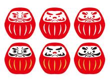 Daruma. Japanese Traditional D...