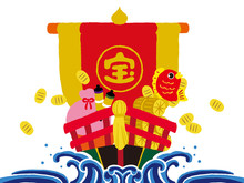 Treasure Ship, Lucky Charm, Mascot
