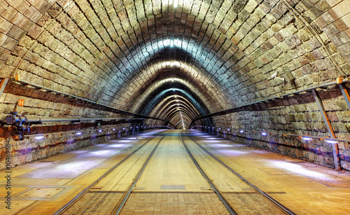 Papiers peints Tunnel Railroad tunnel