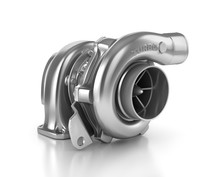 Steel Turbocharger Isolated On White Background High Resolution