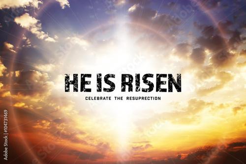 Fotografie, Obraz He is risen