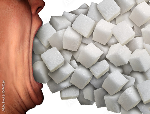 Fotografie, Obraz  Too Much Sugar