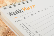 Close-up Word Weekly Planner O...