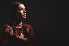 Portrait Of Beautiful Native A...