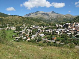 Fototapeta na wymiar Village de Beuil dans les Alpes Maritimes