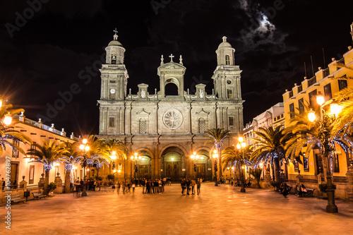 Plaza de Santa Ana. Las Palmas de Gran Canaria.