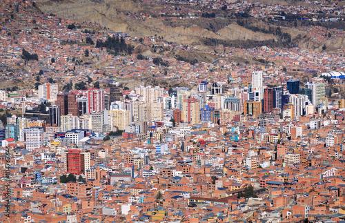 Cadres-photo bureau Amérique du Sud La Paz, Bolivia