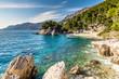 Remote Bay On Makarska Riviera, Dalmatia, Croatia