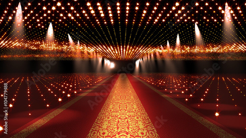 Red Carpet Festival Glamour Scene