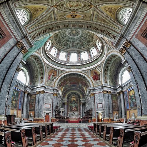 Fotografie, Obraz  Interior of Esztergom Basilica, Hungary