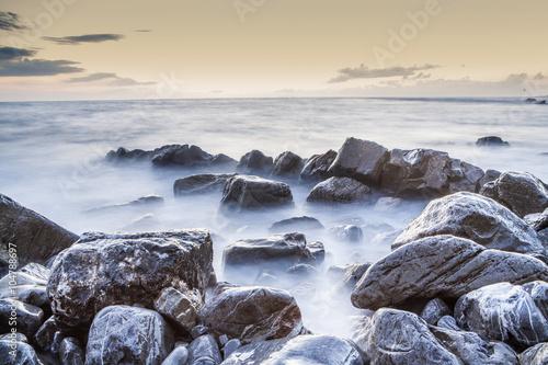 Scogliera arcipelago toscano