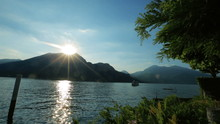 Wonderful Dawn In The Como Lak...