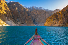 Attabad Lake In Northern Pakis...