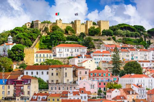 Foto  Lisbon Portugal Castle