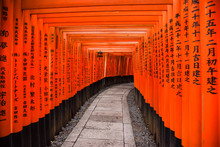 Fushimi Inari Shrine In Kyoto,...