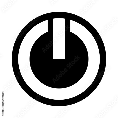 Power Symbol Vector Icon Buy This Stock Vector And Explore Similar