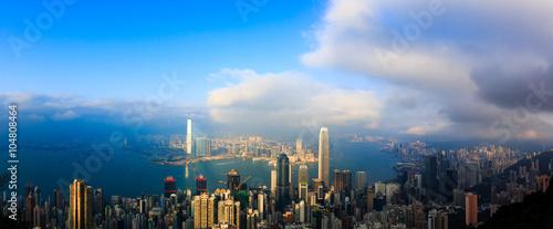 Foto op Aluminium New York Traveling Asian Cities of China Hong Kong
