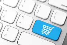 Online Shopping Cart Icon For ...