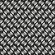 Seamless abstract geometric pattern black and white