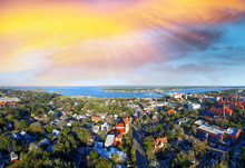 Sunset Over St Augustine, Olde...