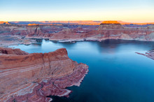 Top View Of Lake Powell And Gl...