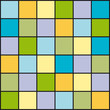 Random Colored Board