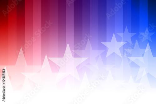 Obraz Blue and Red Star Background - fototapety do salonu