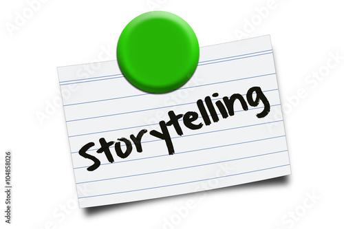 Fotografering  Storytelling