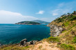 View from Promthep cape in Phuket island, Andaman sea, Thailand
