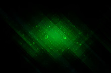 Abstract Bright Glitter Green ...