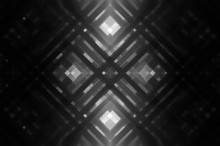 Abstract Grey Fractal Background With Lines