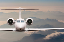 Travel By Aircraft. Airplane F...