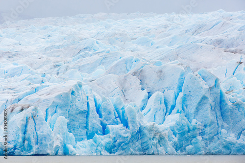 Printed kitchen splashbacks Glaciers glacier grey in chile