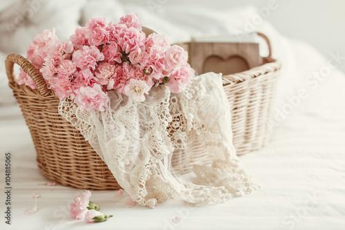 Foto Rollo Basic - Shabby chic flowers (von Alena Ozerova)