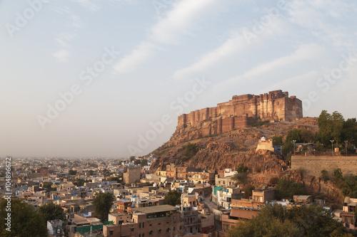 Papiers peints Fortification Jodhpur city in Rajasthan, India