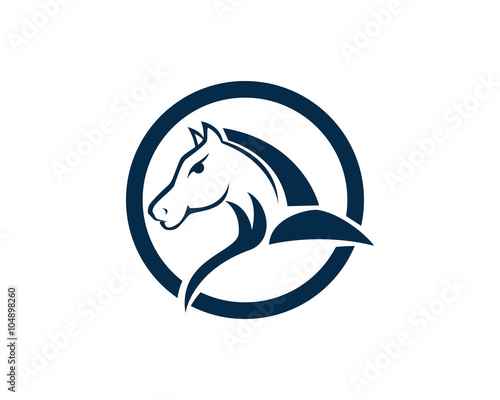 Fototapety, obrazy: Horse Logo Template Vector