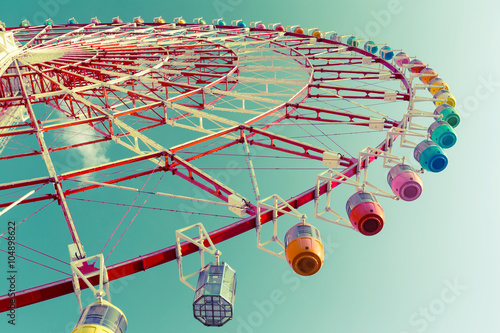 Papiers peints Retro Ferris wheel