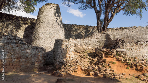In de dag Rudnes Great Zimbabwe
