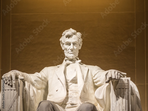 Photographie  The Lincoln statue