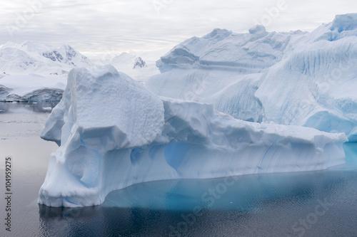 Iceberg at Curtis Bay, Antarctica.