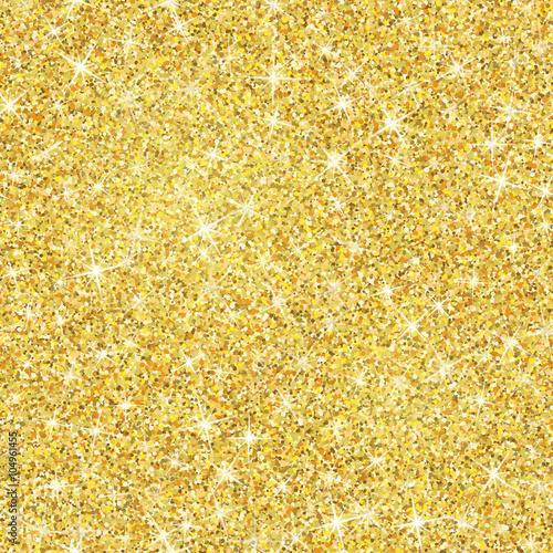 Carta da parati Gold glitter texture with sparkles