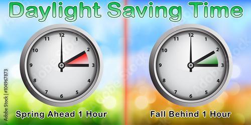 Daylight Saving Time Clocks