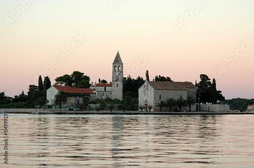 Fotografie, Obraz  Motif from port of Vis - Island Vis, Dalmatia, Croatia