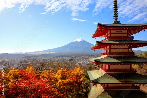 Fototapety, obrazy: Mt Fuji