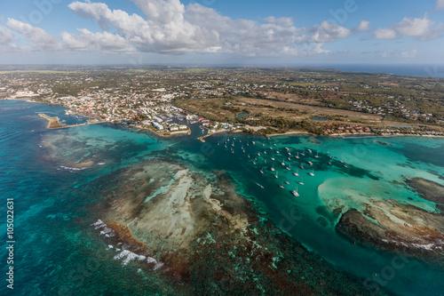 Photo Guadeloupe, Saint-François, vue aérienne