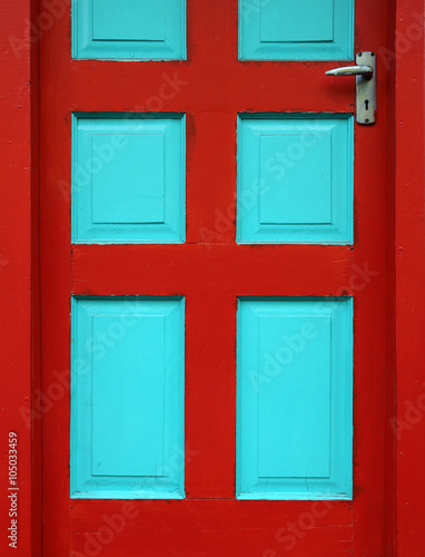 Foto op Canvas Caraïben CARIBBEAN DOORWAY