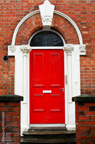 Colorured Doors Poster