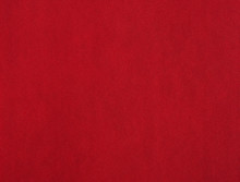 Red Leather With Porous Texture
